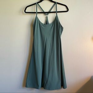 Outdoor Voices Exercise Dress Evergreen Small
